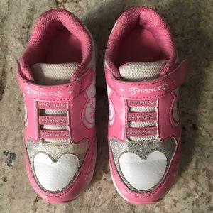 🎀4/$15 Disney Princess Light Up Sneakers Size 11